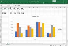 Excel Charts Samples Excel Chart Components Gembox Spreadsheet Example