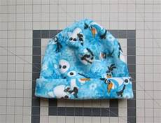 create couture and easy fleece hat pattern