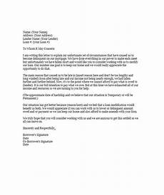 Hardship Letter Loan Modification 35 Simple Hardship Letters Financial For Mortgage For
