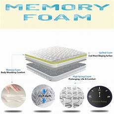 comfy memory foam single small king