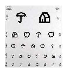 Eye Test Chart For Toddlers Eye Charts For Children Visionary Eyecare S Blog Quot The