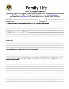 Cooking Merit Badge Answers 16 Best Images Of Family Life Worksheet Answers Family