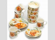 Pumpkin Dinnerware Set & Fiestau0026reg; Halloween Trio Of