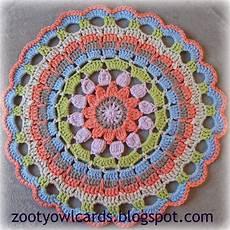 zooty owl s crafty dahlia mandala pattern