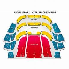 Straz Ferguson Seating Chart David A Straz Center Ferguson Hall Seating Chart
