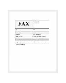 Fax Format Sample Cover Sheet 95 Free Word Pdf Documents Download