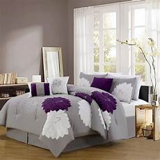 purple plum colored bedding warm opulent comforter sets