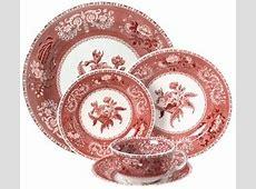 Discontinued Spode Camilla Pink Dinnerware