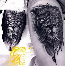 Bipolar Tattoos Designs Interesting Bipolar Technique Tattoos Lion