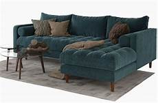 Tiny Sectional Sofa 3d Image by 3d Model Sven Sectional Sofa 176 Free