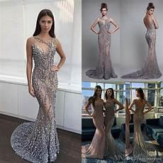 luxury berta 2017 mermaid evening dresses backless