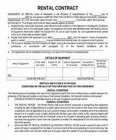 Rent Contracts Samples 15 Rental Contract Templates Pdf Google Docs Word