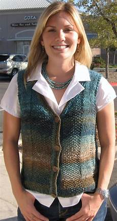 knitted vest patterns a knitting