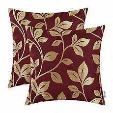 pack of 2 calitime soft throw pillow covers cases for