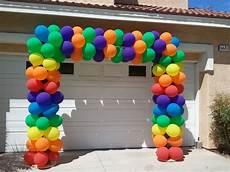 arco de globos square balloon arch balloon archway balloon decorations