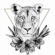 Lion And Lioness Designs Lioness Of Pride Lion Design Lion