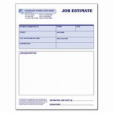 Job Estimates Job Material Amp Labor Record Padded Designsnprint