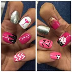 21st Birthday Nail Designs My 21st Birthday Nails Birthday Nail Designs 21st