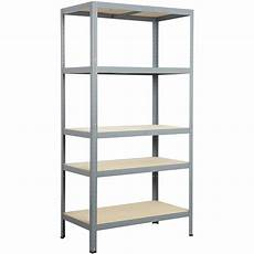 l etagere etag 232 re acier strong 5 tablettes gris l 90 x h 176 x p