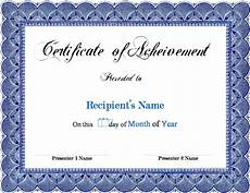 Awards Template Word Certificate Templates Word Certificates Templates Free