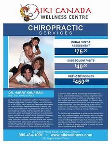 Chiropractic Flyers Whisper Design