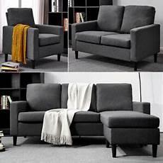 modern l shaped corner 3 seater sofa 2 seater loveseat