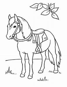 ausmalbild pferde pferde malvorlagen pferde