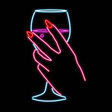 Neon Lights Gif Neon Lights Drinking Gif By Kate Hush Find Amp Share On Giphy