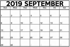 C Alendar Printable Calendar September 2019 Excel Template Magic