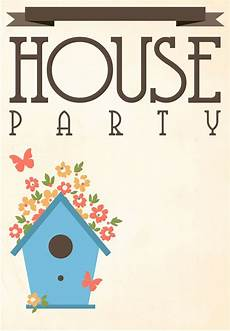 Housewarming Party Invitation Template Free Printable House Party Invitation Housewarming
