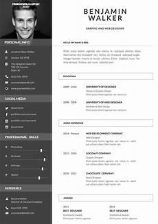 Create Cv Template Clean Resume Template Free Psd Freedownloadpsd Com