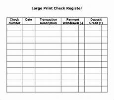 Sample Checkbook Large Check Registers Charlotte Clergy Coalition