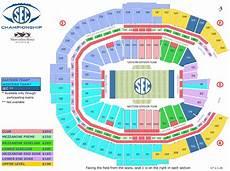 Mercedes Benz Stadium In Atlanta Seating Chart Sec Championship Game Prices Stadium Seat Chart