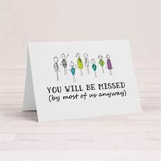Free Printable Farewell Card For Colleague Funny Goodbye Card Rude Farewell Card Funny Greeting Card