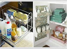 Den perfekta ordning i ett litet badrum: 5 idéer förvaring under diskbänken   dizainall.com