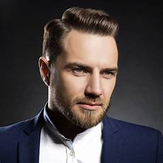 the side part haircut a classic style for gentlemen