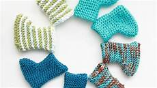 how to knit fast and baby booties diy crafts