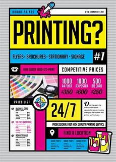 Create A Flyer Online Free And Print Free Print Shop Flyer Template Download For Photoshop