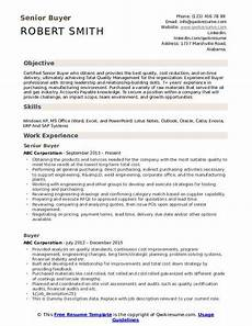 Sample Buyer Resume Buyer Resume Samples Qwikresume