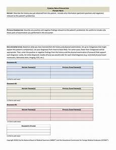 Patient Note Template Sample Patient Note How To Create A Patient Note