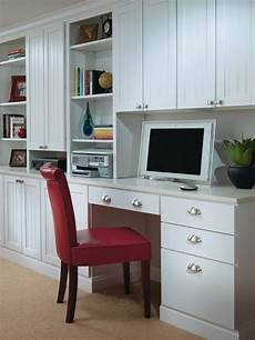 aristokraft white desk cabinets traditional home