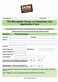 Jobs Forms 9 Job Application Form Examples Pdf Examples