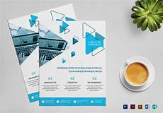 Free Business Flyer Design Creative Business Flyer Design Template In Psd Word