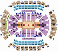Toyota Center Seating Chart Rows Seat Numbers And Club
