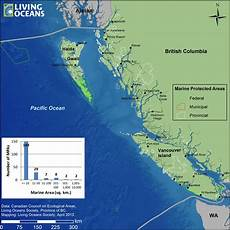 Marine Charts Bc Coast Marine Protected Areas In Bc Living Oceans