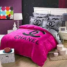 chanel bed set ch 05 chanel bedding set 4 pink