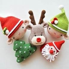 c 243 mo hacer adorables amigurumis para navidad amigurumi