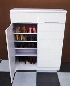 cheap white 2 doors shoes cabiner direct sales