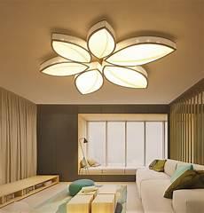 Light Design Leaves Ceiling Light Modern Surface Mounted Led Celing