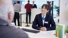 Sovereign Bank Customer Service 4k Bank Worker At Service Stock Footage Video 100